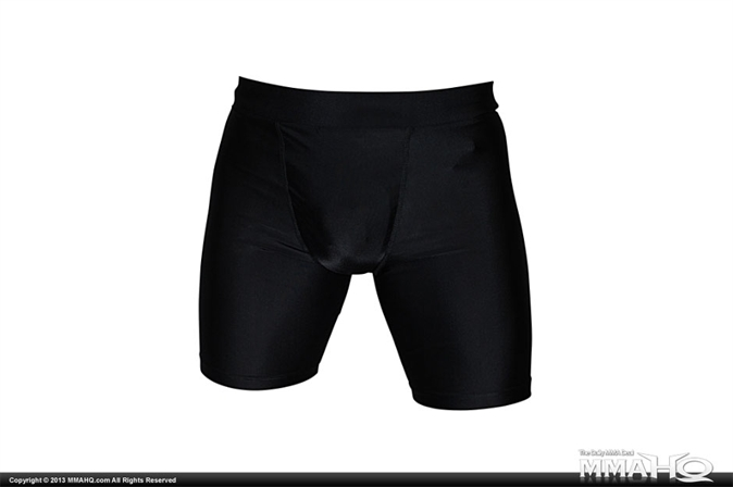 Cageside Vale Tudo Compression Shorts with Cup Pocket